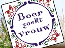 boer trouwt vrouw